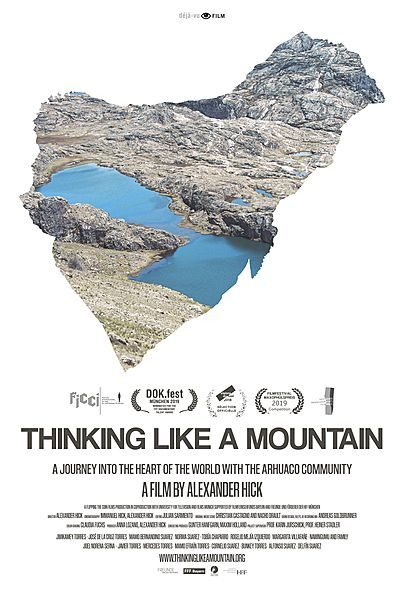 """Movie poster for """"THINKING LIKE A MOUNTAIN"""""""
