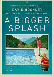 "Movie poster for ""A BIGGER SPLASH"""