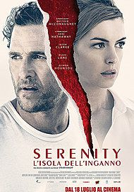 """Movie poster for """"SERENITY - L'ISOLA DELL'INGANNO"""""""