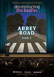 """Movie poster for """"DECONSTRUCTING THE BEATLES: ABBEY ROAD SIDE 2"""""""