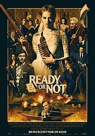 "Movie poster for ""READY OR NOT"""