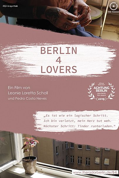 """Movie poster for """"BERLIN 4 LOVERS"""""""