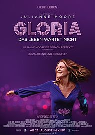 """Filmplakat für """"GLORIA - DAS LEBEN WARTET NICHT"""""""