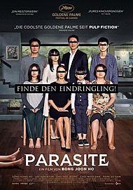 """Filmplakat für """"PARASITE"""""""