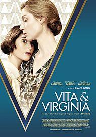 "Movie poster for ""VITA & VIRGINIA"""