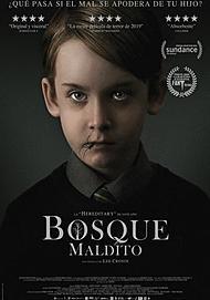 """Póster para """"BOSQUE MALDITO"""""""