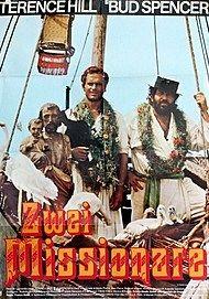 """Filmplakat für """"ZWEI MISSIONARE"""""""