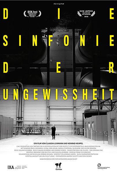 """Movie poster for """"DIE SINFONIE DER UNGEWISSHEIT"""""""