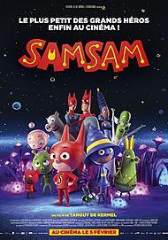 """Movie poster for """"SAMSAM"""""""