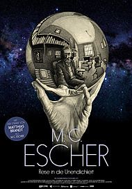 "Movie poster for ""ESCHER: HET ONEINDIGE ZOEKEN"""