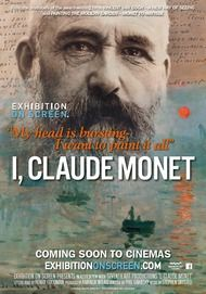 """Movie poster for """"I, CLAUDE MONET"""""""