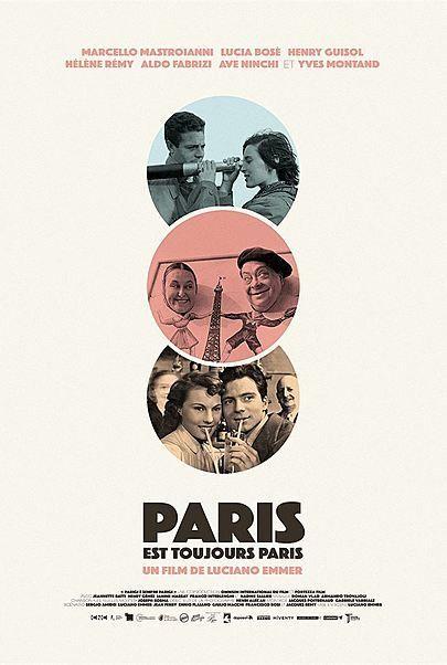 """Movie poster for """"PARIS IS ALWAYS PARIS"""""""