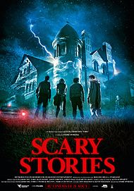 """Movie poster for """"SCARY STORIES TO TELL IN THE DARK"""""""