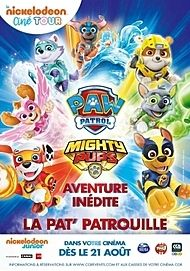 """Movie poster for """"MIGHTY PUPS, LA SUPER PATROUILLE"""""""