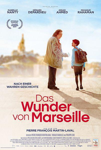 """Filmplakat für """"DAS WUNDER VON MARSEILLE"""""""