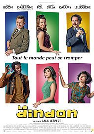 """Movie poster for """"LE DINDON """""""
