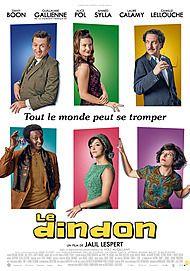 """Affiche du film """"LE DINDON """""""