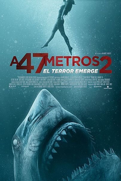 """Movie poster for """"47 METERS DOWN: UNCAGED"""""""
