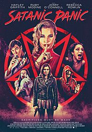 "Movie poster for ""SATANIC PANIC"""