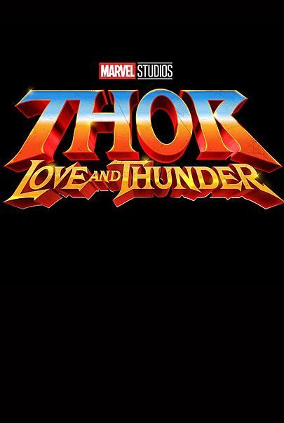 "Filmplakat für ""THOR: LOVE AND THUNDER"""