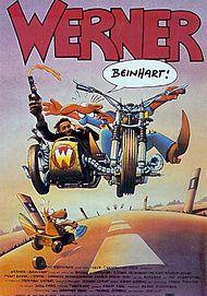 """Movie poster for """"WERNER - BEINHART!"""""""