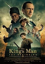 "Movie poster for ""THE KING'S MAN"""