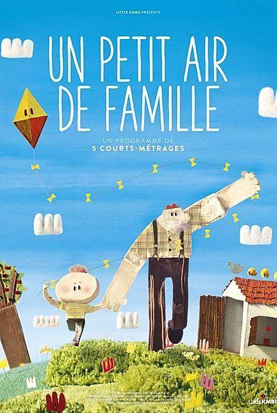 """Affiche du film """"UN PETIT AIR DE FAMILLE"""""""