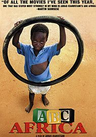 """Movie poster for """"ABC AFRICA"""""""