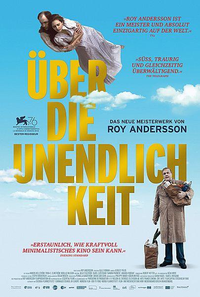 """Filmplakat für """"ÜBER DIE UNENDLICHKEIT"""""""