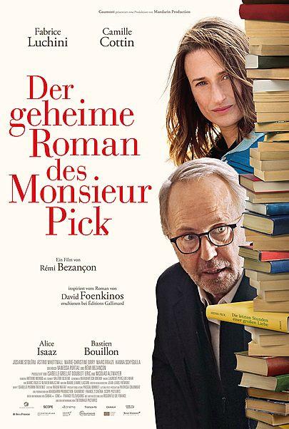 """Filmplakat für """"DER GEHEIME ROMAN DES MONSIEUR PICK"""""""