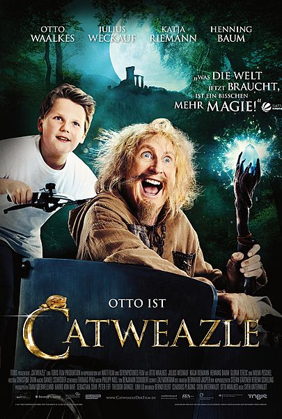 "Movie poster for ""CATWEAZLE"""