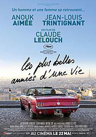 """Movie poster for """"Les plus belles années d'une vie"""""""