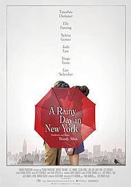 """Filmplakat für """"A RAINY DAY IN NEW YORK"""""""