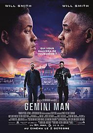 "Movie poster for ""GEMINI MAN"""