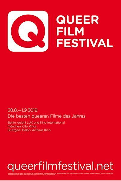 """Filmplakat für """"QUEERFILMFESTIVAL"""""""
