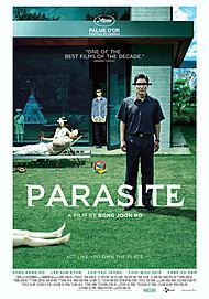 """Movie poster for """"PARASITE"""""""