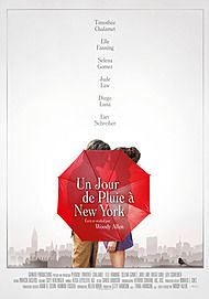 "Movie poster for ""A RAINY DAY IN NEW YORK"""