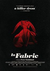 """Movie poster for """"IN FABRIC"""""""