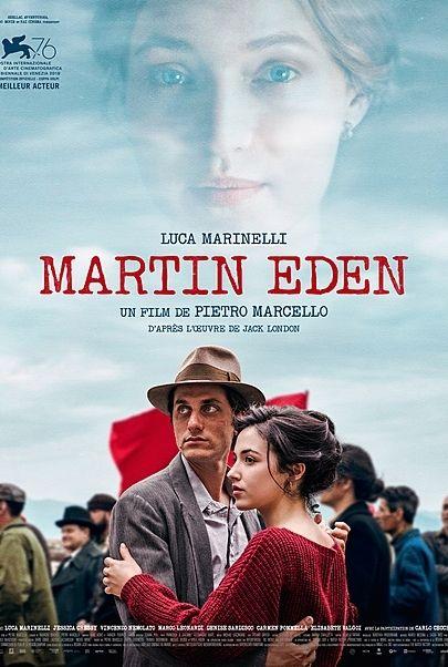 """Movie poster for """"MARTIN EDEN"""""""