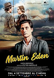 "Movie poster for ""MARTIN EDEN"""