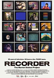 """Movie poster for """"RECORDER: THE MARION STOKES PROJECT"""""""