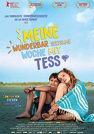 """Filmplakat für """"MEINE WUNDERBAR SELTSAME WOCHE MIT TESS"""""""
