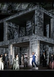 "Movie poster for ""DON GIOVANNI - ROYAL OPERA HOUSE 2019/20"""