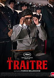 """Movie poster for """"THE TRAITOR"""""""