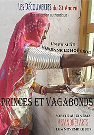"Movie poster for ""PRINCES ET VAGABONDS"""