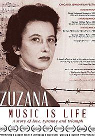 """Filmplakat für """"ZUZANA: MUSIC IS LIFE"""""""