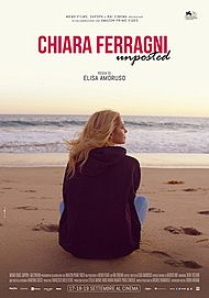 "Movie poster for ""CHIARA FERRAGNI: UNPOSTED"""