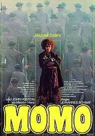 """Filmplakat für """"MOMO"""""""