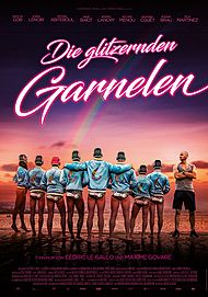 """Filmplakat für """"DIE GLITZERNDEN GARNELEN"""""""