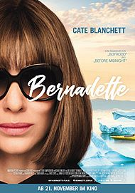 "Movie poster for ""WHERE'D YOU GO, BERNADETTE?"""